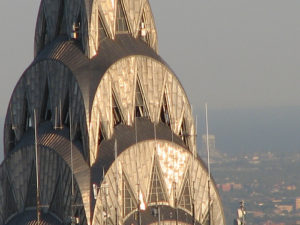 Top of Chrysler Building, photo by Chris in Philly-flickr