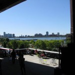 High Line view of Hudson River