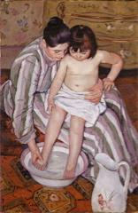 "Mary Cassatt, ""The Bath,"" subject of Terrain Galelry art talk"