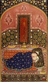 "Persian miniature, ""Shah Nameh,"" subject of Terrain Gallery art talk"