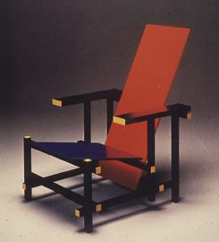 Gerrit Rietveld, Red and Blue Chair