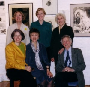 Terrain Gallery Committee: Jane Hall, Carrie Wilson, Dorothy Koppelman, Nancy Huntting, Marcia Rackow, Chaim Koppelman - 2005