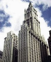 Woolworth Building, Terrain Gallery history