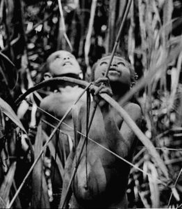 Photograpy by Arnold Perey, Boys in New Guinea, on the cover of his novel GWE