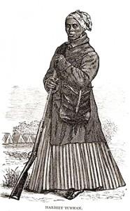 Harriet Tubman, Civil War woodcut
