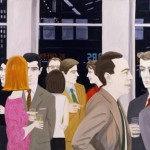 "Alex Katz, ""The Cocktail Party"""