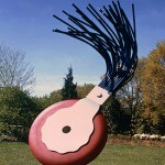 Claes Oldenburg, Typewriter Eraser, Scale X