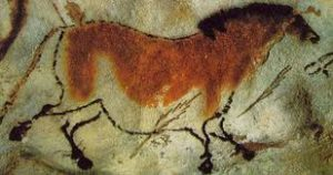 Cave Painting of Horse, Lascaux, France