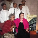 The People of Clarendon County at Harlem School for the Arts: Ruby Dee, Alice Bernstein, and students