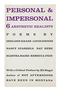 Personal & Impersonal: 6 Aesthetic Realists [poems] by Sheldon Kranz, et al.