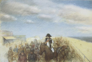 """Napoleon Entering Brighton Beach"" by Chaim Koppelman"
