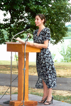 Eli Siegel Day in Baltimore - Ellen Reiss, Aesthetic Realism Chairman of Education