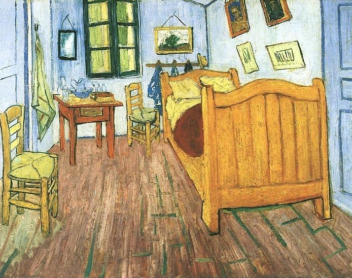 Van gogh 39 s bedroom at arles aesthetic realism foundation for Bedroom in arles