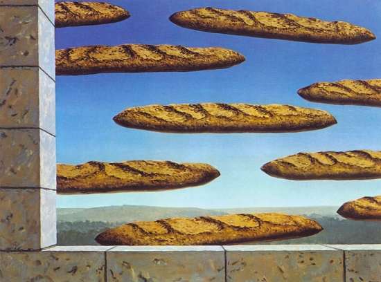 """The Golden Legend"" by Magritte"
