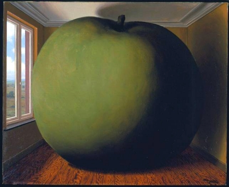 """The Listening Room"" by Magritte"