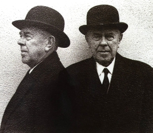 René Magritte. Photo by Duane Michals