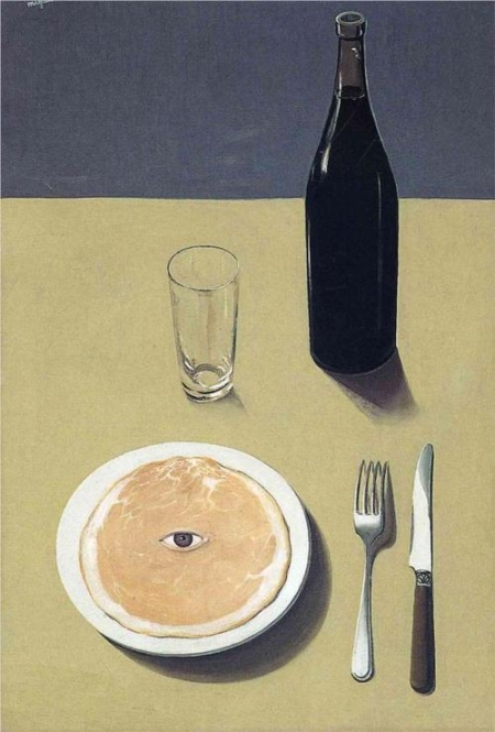 """Portrait"" by Magritte"