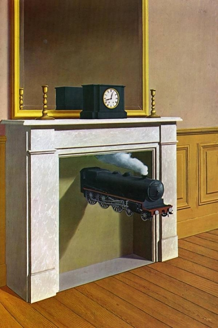 """""""Time Transfixed"""" by Magritte"""