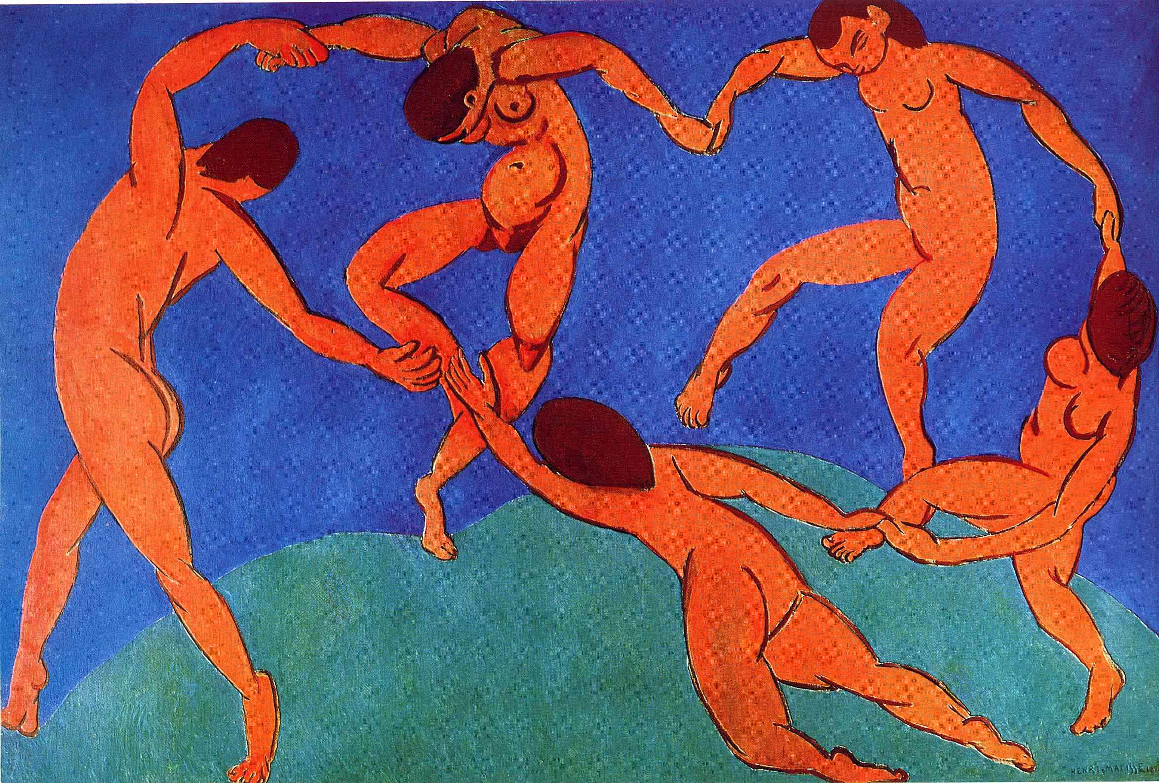 henri matisse aesthetic realism foundation henri matisse dance ii 1910