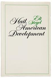 Hail, American Development. Poems - cover image