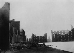 """""""The Ruins of Richmond"""" by Mathew Brady, 1865"""