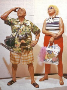 Duane Hanson, Tourists 1970