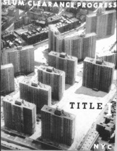 Title 1, slum clearance progress