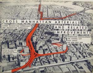 Lower Manhattan Expressway, proposed plan