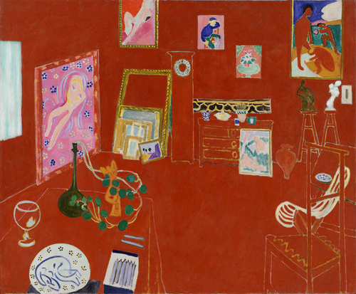 henri-matisse-red-studio-1911