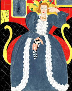 Henri-Matisse-Woman-in-Blue-1937