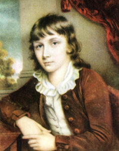 Portrait of Wiliam Hazlitt by his brother John Hazlitt