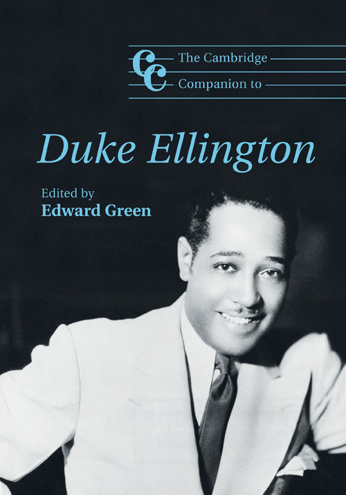 Cambridge-Companion-to-Duke-Ellington- edited by Edward Green-cover image
