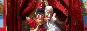 Punch and Judy puppets