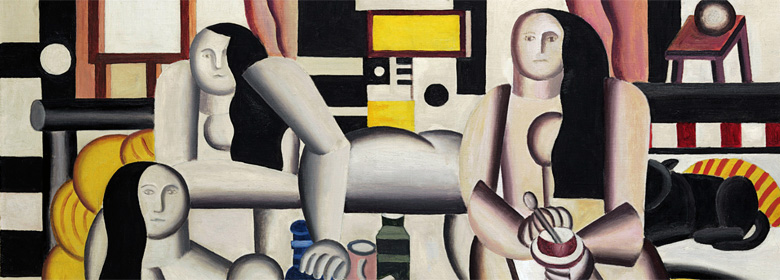 "Leger's ""Le Grand Dejeuner"" detail"