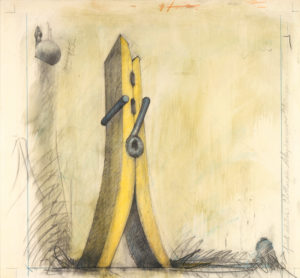 Claes Oldenburg: Clothespin