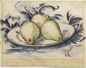 Cezanne - Three Pears